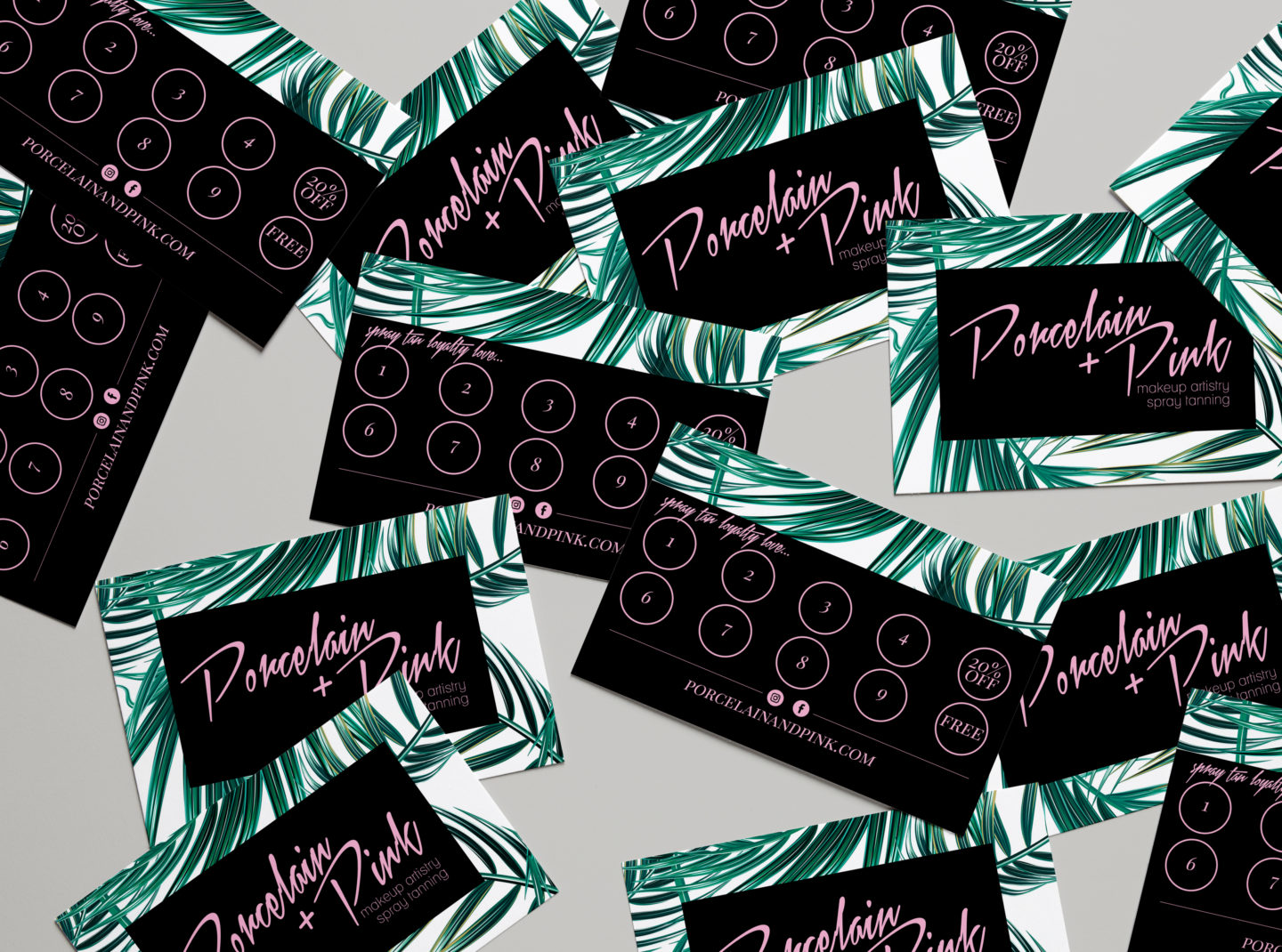 NEW Spray Tan Loyalty Cards!