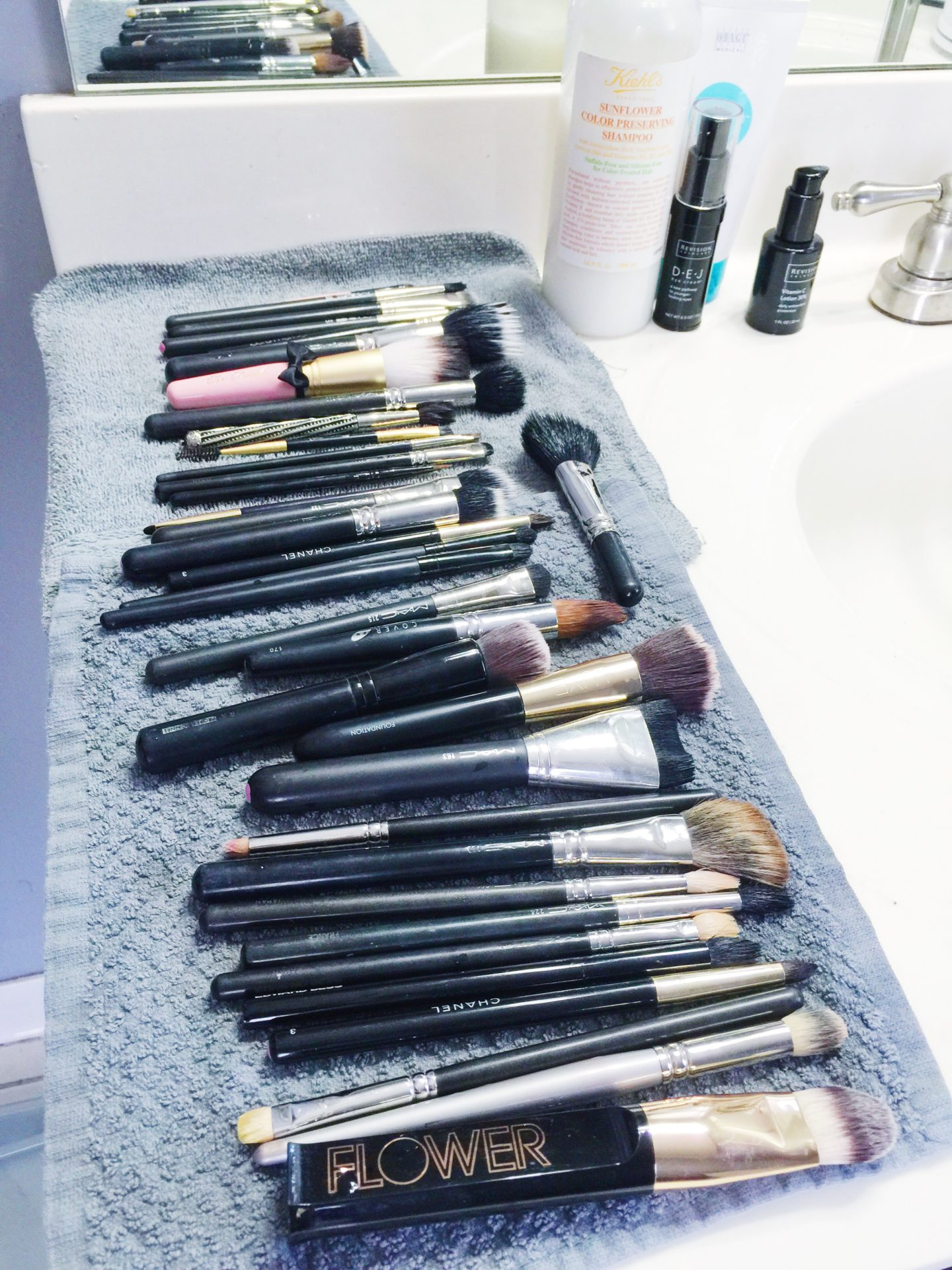 Squeaky Clean Brushes